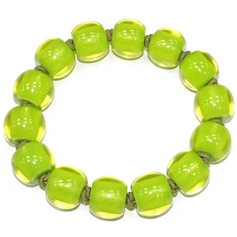 40103109019Q14 Colourful Beads Lime 9019 L