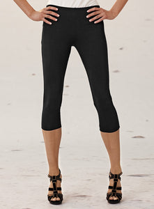 Black Cropped Mela Purdie Legging Style and Grace