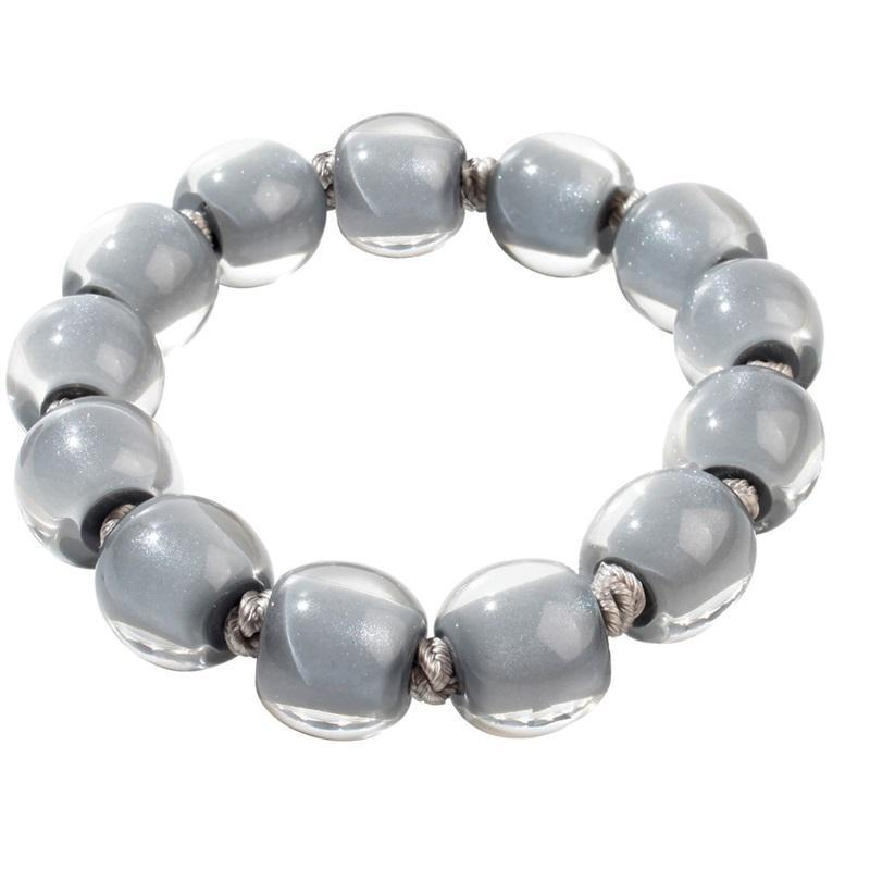40103109189Q14 Colourful Beads Grey 9189 L #