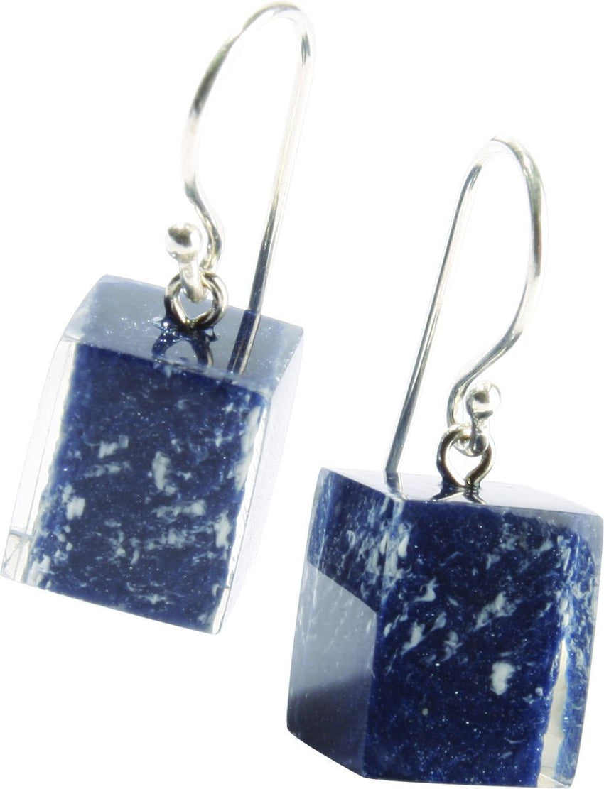 4190504DB00Q00 Earring Colourfucubes Denim