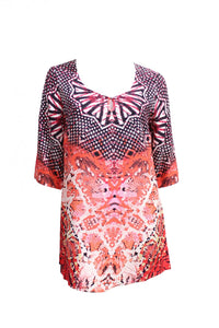 Print Bohemian Yarra Trail Top Style and Grace