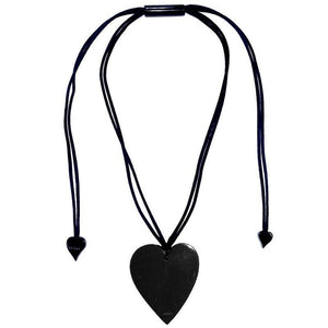 50602039010Q00 pendant COLOURFUL STATEMENT 1bead adjust, black