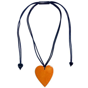50602039016Q00 Heart Large Orange 9016 (Adj Cord)
