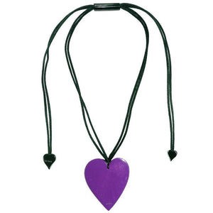 50602039018Q00 Heart Large Purple 9018 (Adj Cord)