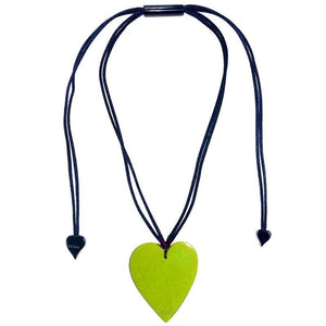 50602039019Q00 Heart Large Green 9019 (Adj Cord)