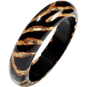 6220302GF01Q0L Wild World Chic Gold foil/Black L #