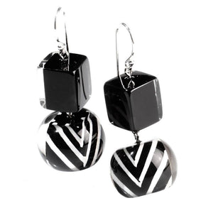 6230501BWHIQ00 501 chevron Black/White