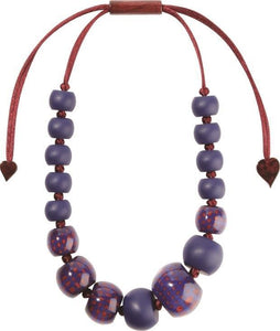 8190101BREDQ16 CITY BEADS purple (adj) #