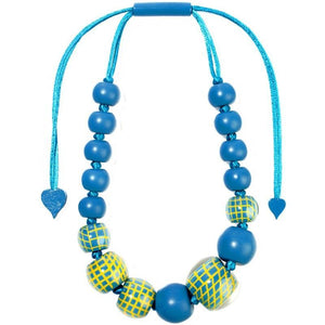 8190101TYELQ16 101 CITY BEADS turquoise/Yellow