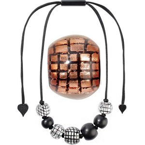 8190102C001Q07 CITY BEADS copper/Black (adj #