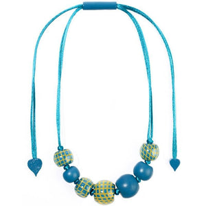 8190102TYELQ07 102 CITY BEADS turquoise/Yellow