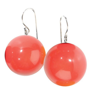 1190502YP02Q00 earring bolas orange