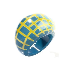 8190601TYELQ0L 601 CITY BEADS turquoise/Yellow L
