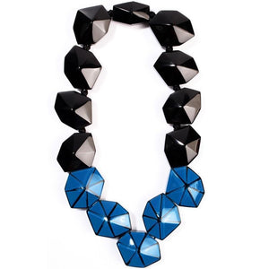 8220104BBLUQ13 104 Origami Black/Blue