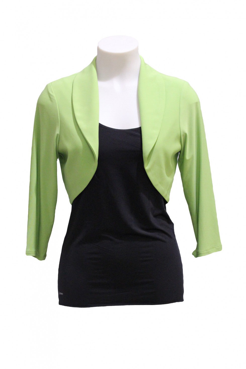 Lime Frank Lyman Bolero Style and Grace