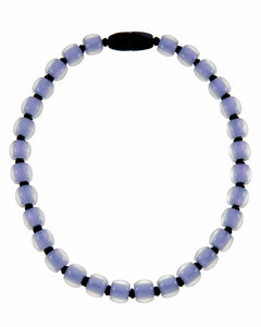 40101199199Q30 Colourful Beads Necklace 119 Lavander 9199 Q30