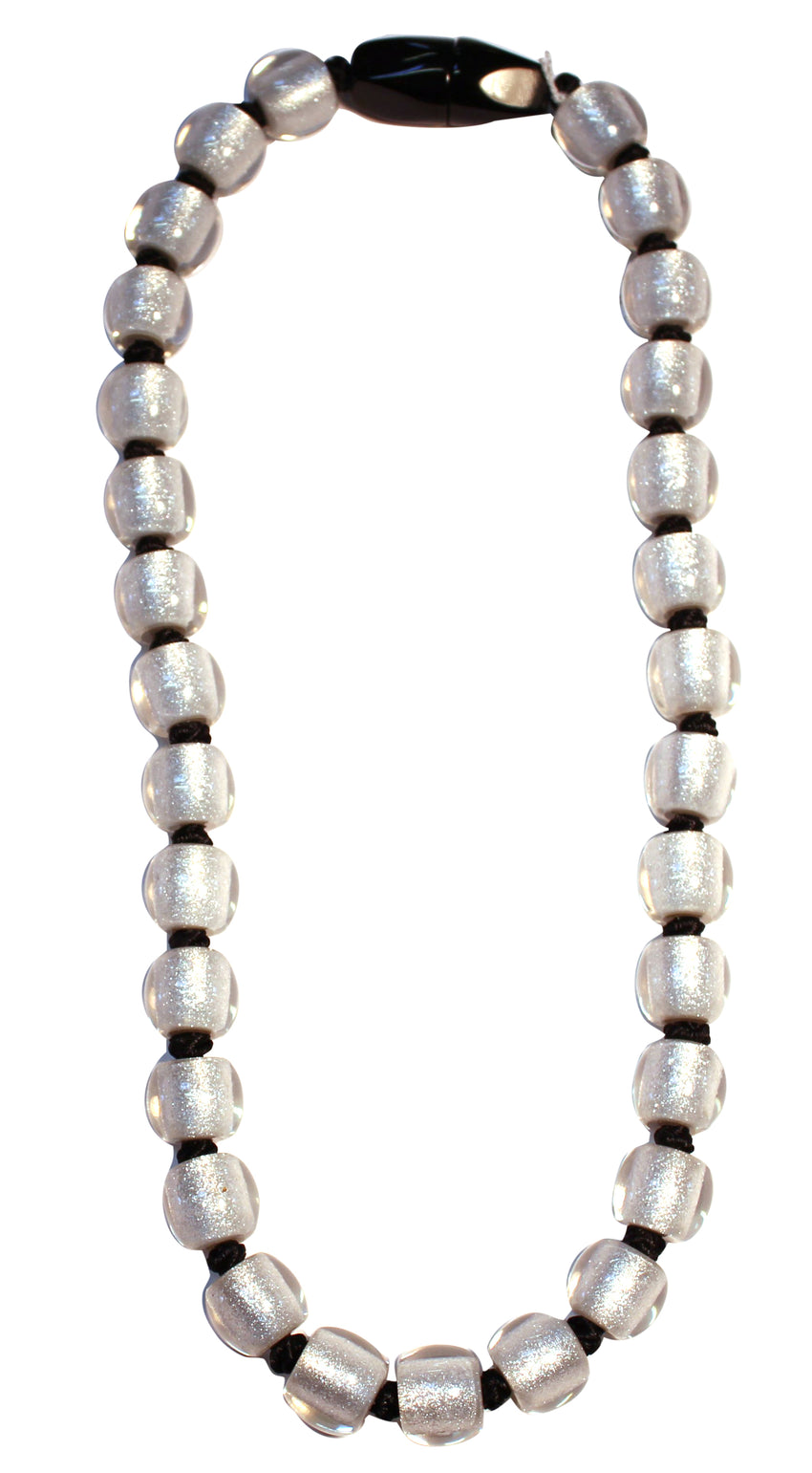 4010119S00PQ30 Colourful Beads silver Bead Black S00P Q30