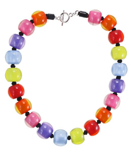 40101310400Q20 Colourful Beads Necklace/117 Spectrum/0400 Q20