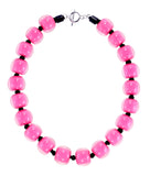 40101319017Q20 Colourful Beads Necklace 117 Pink/9017 Q20