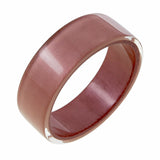40103079198Q0L Colourful Beads Bangle 307 Rose Gold 9198 L