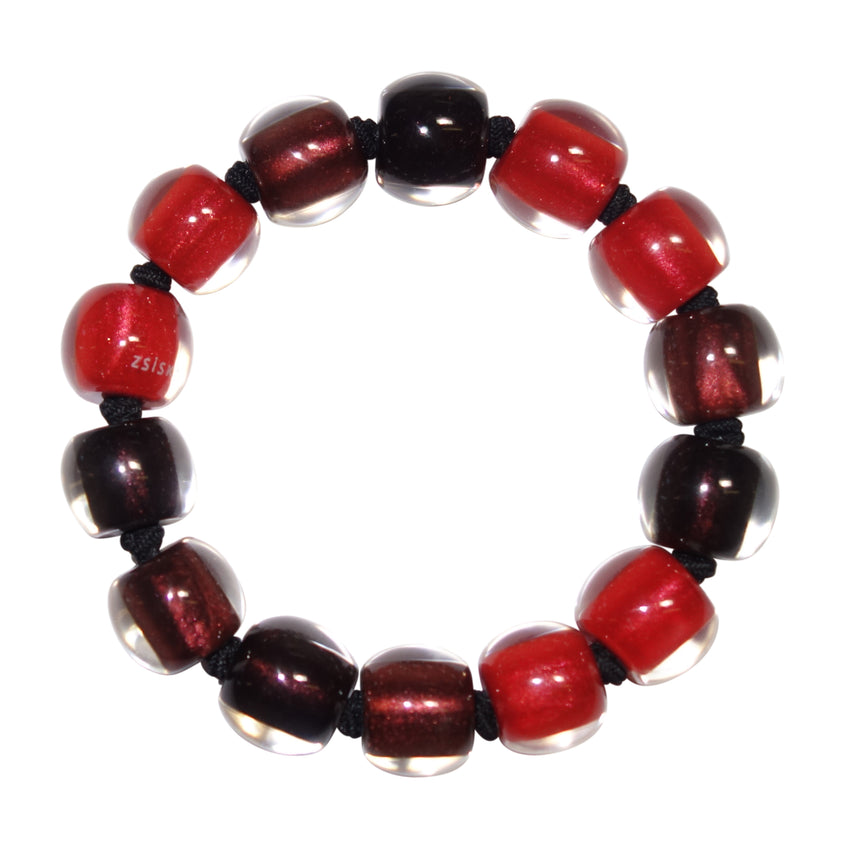 40103100481Q13 Bracelet COLOURFULBEADS combinationred