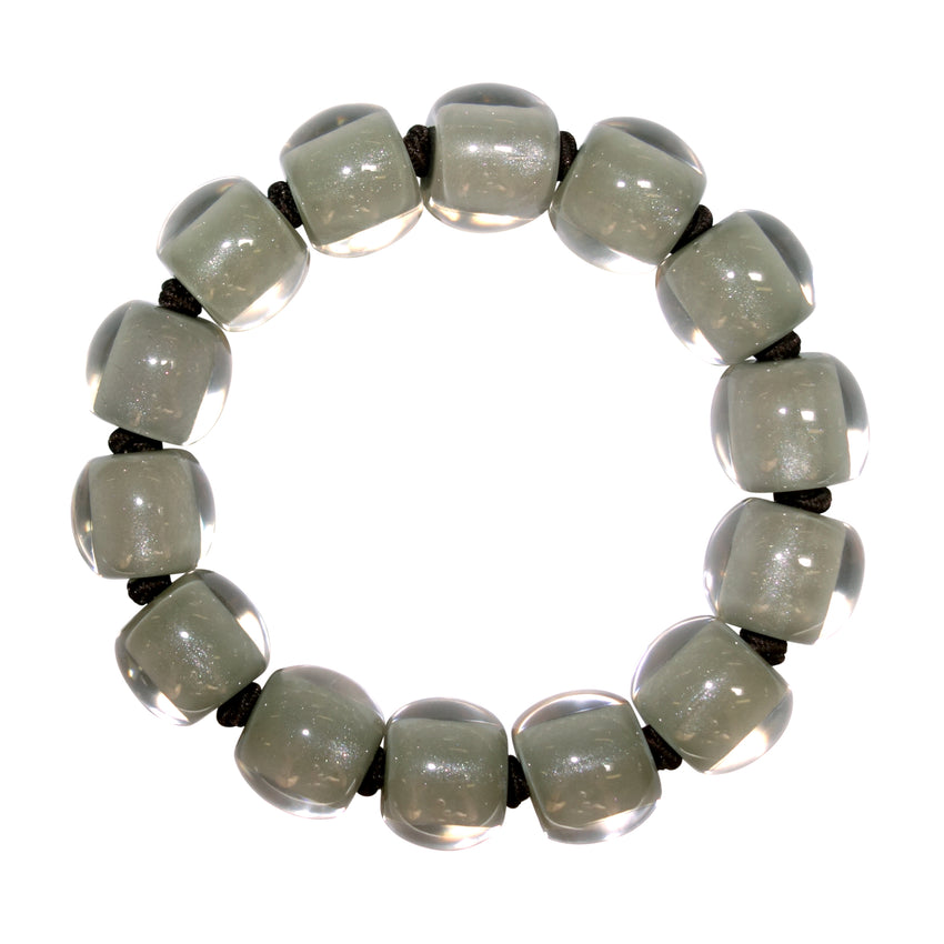 4010310GR02Q14 Colourful Beads Grey GR02 L #