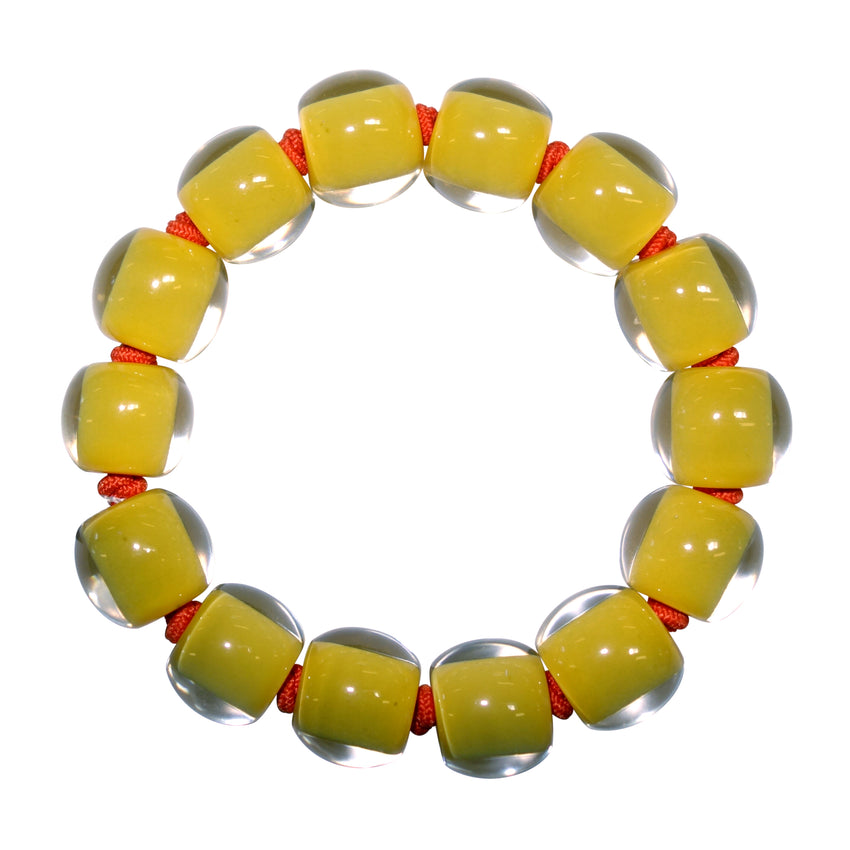 4010310YP03Q14 Colourful Beads Yellow YP03 L