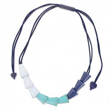 22001033040Q09 Necklace NEXT blue/turq/light blue
