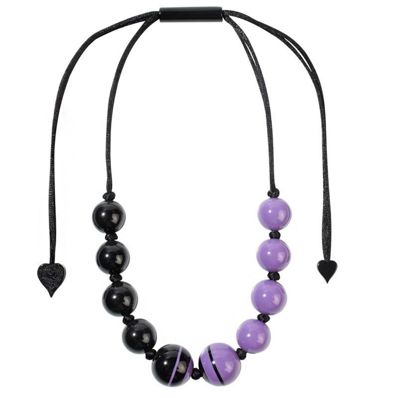 2220103PUREQ10 Sixties purple/Black adj #