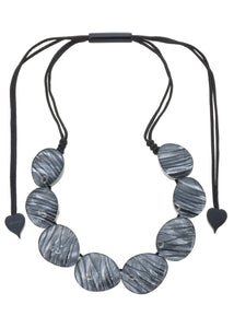 5260101necklace EDEN 8beads adjust, smok