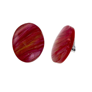 5262701REDDQ00 Eden Earrings 701 Red