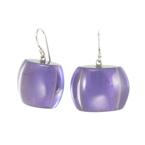 72405029170Q00 earring BELLISSIMA 1bead shorthook, purple