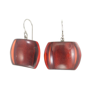 72405029172Q00 earring BELLISSIMA 1bead shorthook, red