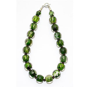 4010103MP16Q20 Colourful Beads GreenMarble MP16 Q20 #
