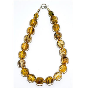 4010103MP18Q20 Colourful Beads YellowMarble MP18 Q20 #