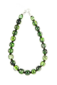 4010106MP16Q23 Colourful Beads GreenMarble MP16 Q23 #