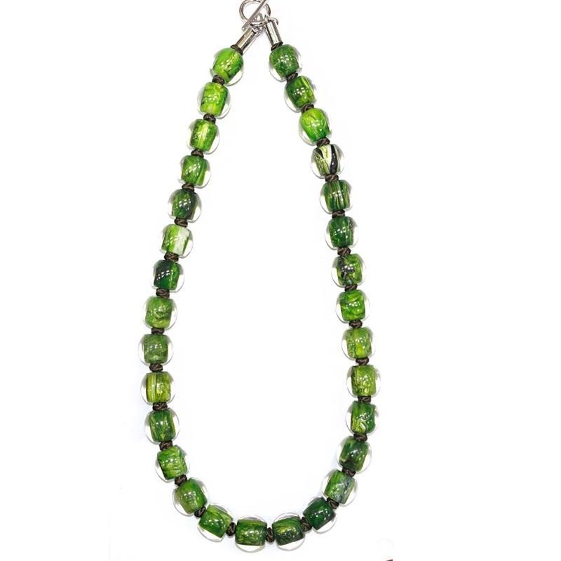 4010107MP16Q23 Colourful Beads GreenMarble MP16 Q23 #