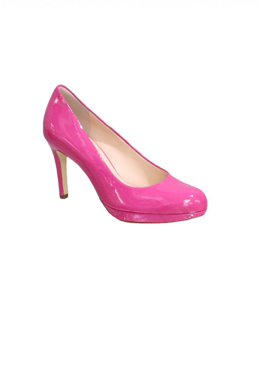 Pink Patent Hogl Heel Style and Grace