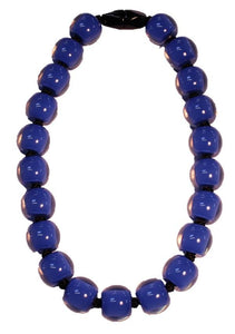 40101173011Q20 Colourful Beads Necklace 117 Blue /3011 Q20
