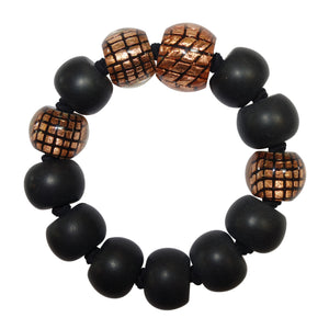 8190301C001Q13 CITY BEADS copper/Black L #