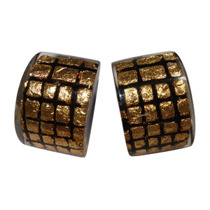 8190503GF01Q00 CITY BEADS gld/Black (stud) #