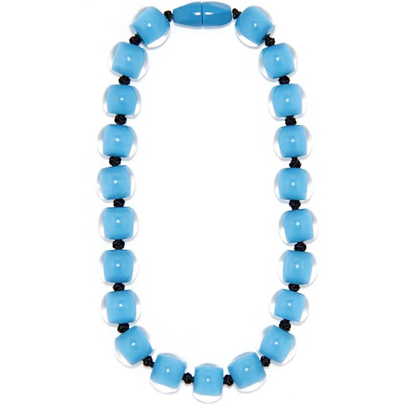 40101179131Q20 Colourful Beads SkyBlue 9131 Q20