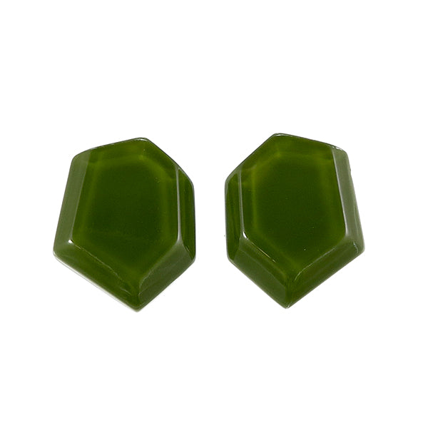 8310503CH04Q00 earring CHORUS 1bead pin, Green
