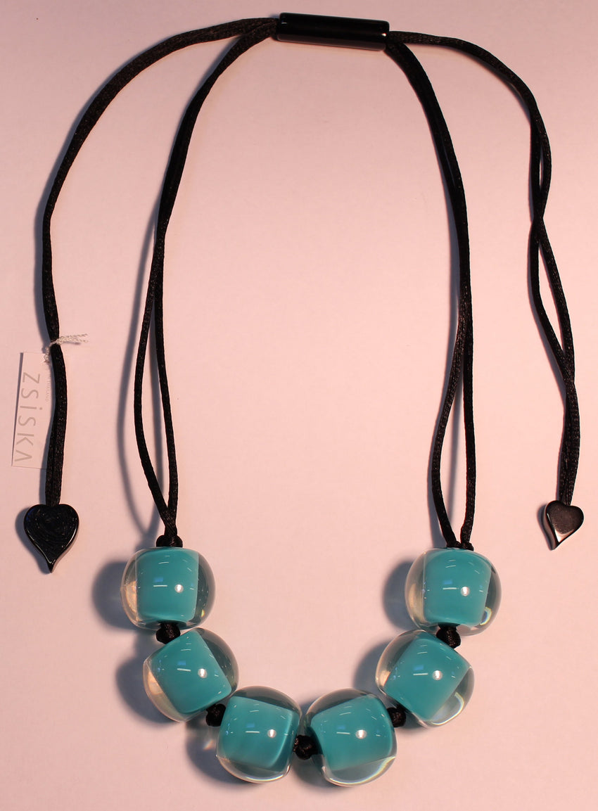 40101209070Q06 Colourful Beads Turquoise 9070