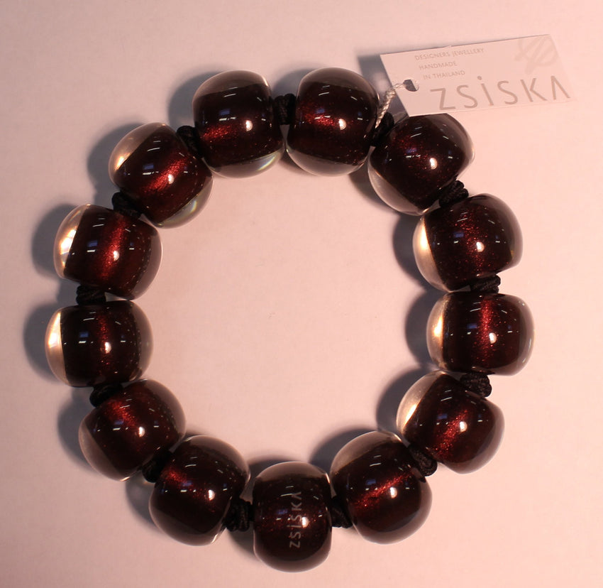 40103029139Q13 Colourful Beads Rust 9139 L