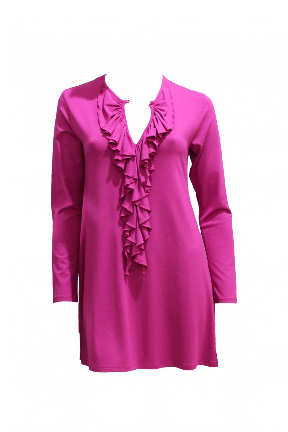 Magenta Mela Purdie Flamenco Blouse Style and Grace