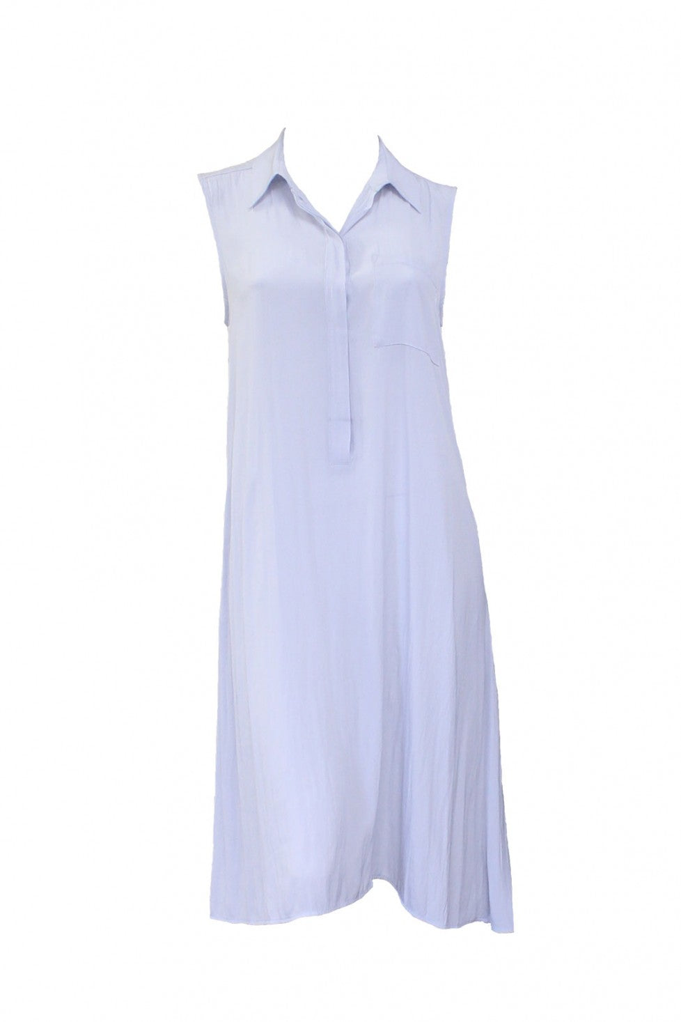 Vapour Front Mela Purdie Sleeveless Shirt Dress Style and Grace