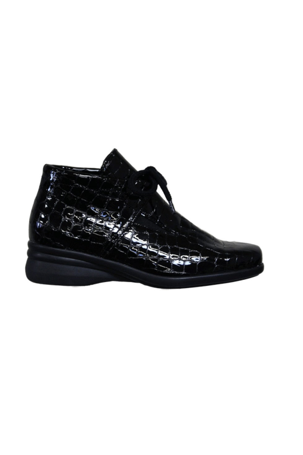 The Hirica Genna Boot Croc Black Style and Grace