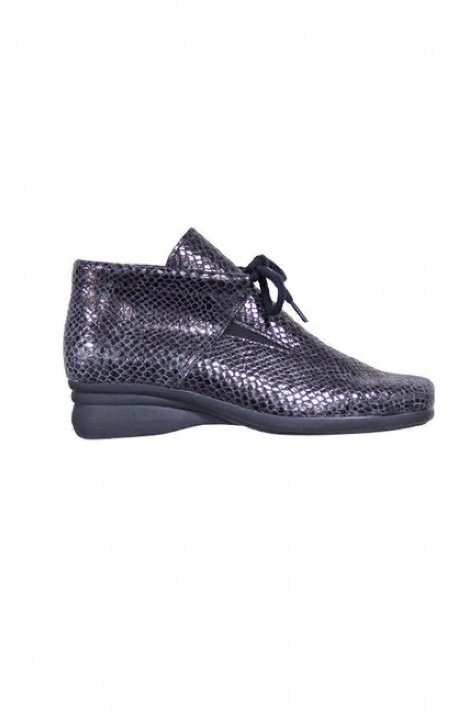 The Hirica Genna Boot Black Python Style and Grace