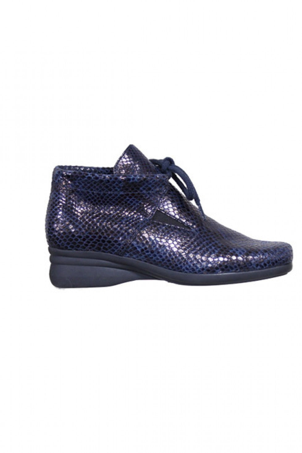 The Hirica Genna Boot Marine Python Style and Grace